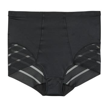 内衣  女士 底裤 DIM DIAM'S CONTROL CULOTTE HAUTE 黑色