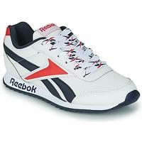 鞋子 儿童 球鞋基本款 Reebok Classic REEBOK ROYAL CLJOG 2 白色 / 海蓝色 / 红色