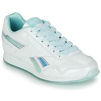 鞋子 女孩 球鞋基本款 Reebok Classic REEBOK ROYAL CLJOG 3.0 白色 / 蓝色