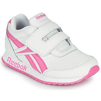 鞋子 女孩 球鞋基本款 Reebok Classic REEBOK ROYAL CLJOG 2 KC 白色 / 玫瑰色