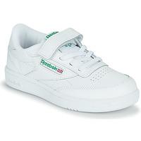 鞋子 儿童 球鞋基本款 Reebok Classic CLUB C 1V 白色