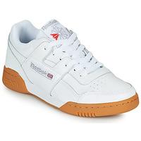 鞋子 球鞋基本款 Reebok Classic WORKOUT PLUS 白色