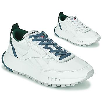 鞋子 球鞋基本款 Reebok Classic CL LEGACY 白色 / 绿色