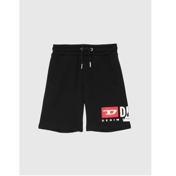 衣服 男孩 短裤&百慕大短裤 Diesel 迪赛尔 PSHORTCUTY 黑色