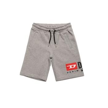 衣服 男孩 短裤&百慕大短裤 Diesel 迪赛尔 PSHORTCUTY 灰色