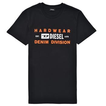 衣服 男孩 短袖体恤 Diesel 迪赛尔 TDIEGOSK32 黑色