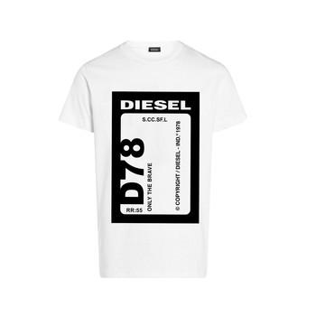 衣服 男孩 短袖体恤 Diesel 迪赛尔 TFULL78 白色