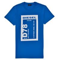 衣服 男孩 短袖体恤 Diesel 迪赛尔 TFULL78 蓝色