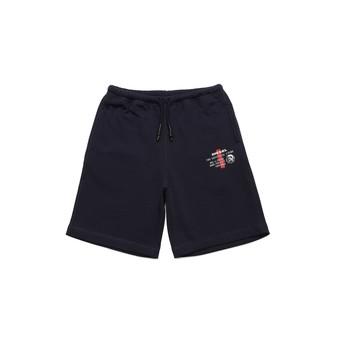 衣服 男孩 短裤&百慕大短裤 Diesel 迪赛尔 PEDDY 蓝色