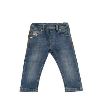 衣服 男孩 紧身牛仔裤 Diesel 迪赛尔 KROOLEY 蓝色