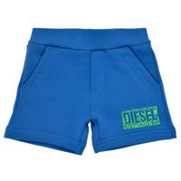 衣服 男孩 短裤&百慕大短裤 Diesel 迪赛尔 POSTYB 蓝色