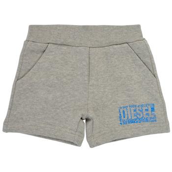 衣服 男孩 短裤&百慕大短裤 Diesel 迪赛尔 POSTYB 灰色