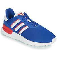 鞋子 儿童 球鞋基本款 Adidas Originals 阿迪达斯三叶草 LA TRAINER LITE J 蓝色 / 白色