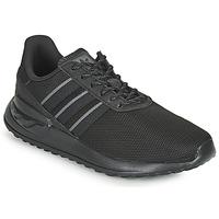 鞋子 儿童 球鞋基本款 Adidas Originals 阿迪达斯三叶草 LA TRAINER LITE J 黑色