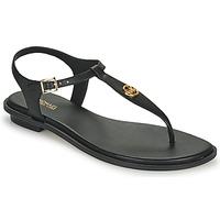 鞋子 女士 凉鞋 Michael by Michael Kors MALLORY THONG 黑色