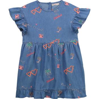衣服 女孩 短裙 Billieblush / Billybandit U12640-Z10 蓝色