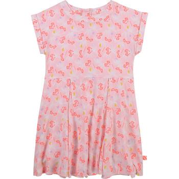 衣服 女孩 短裙 Billieblush / Billybandit U12650-Z40 玫瑰色