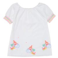 衣服 女孩 短裙 Billieblush U12657-10B 白色