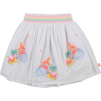 衣服 女孩 半身裙 Billieblush / Billybandit U13275-10B 白色