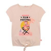 衣服 女孩 短袖体恤 Billieblush / Billybandit U15852-44F 玫瑰色
