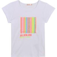 衣服 女孩 短袖体恤 Billieblush / Billybandit U15857-10B 白色