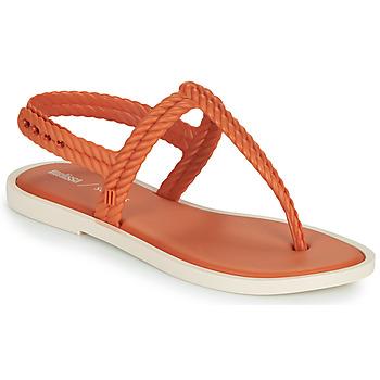 鞋子 女士 人字拖 Melissa 梅丽莎 FLASH SANDAL & SALINAS 橙色 / 米色