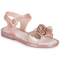 鞋子 女孩 凉鞋 Melissa 梅丽莎 MEL MAR SANDAL FLY 玫瑰色 / 金色