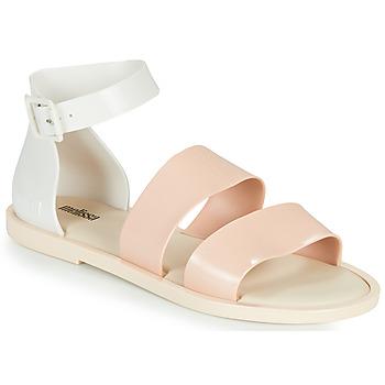 鞋子 女士 凉鞋 Melissa 梅丽莎 MELISSA MODEL SANDAL 白色 / 玫瑰色