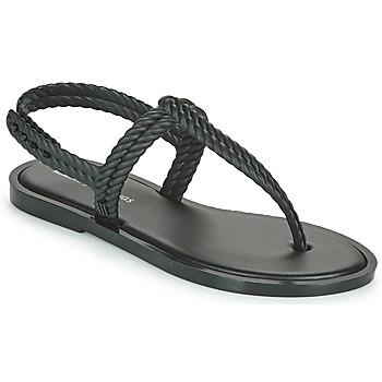 鞋子 女士 人字拖 Melissa 梅丽莎 FLASH SANDAL + SALINAS 黑色