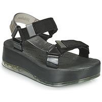 鞋子 女士 凉鞋 Melissa 梅丽莎 PAPETE PLATFORM + RIDER 黑色 / 灰色
