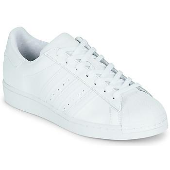 鞋子 球鞋基本款 Adidas Originals 阿迪达斯三叶草 SUPERSTAR 白色