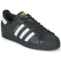 鞋子 球鞋基本款 Adidas Originals 阿迪达斯三叶草 SUPERSTAR 黑色 / 白色