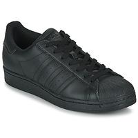 鞋子 球鞋基本款 Adidas Originals 阿迪达斯三叶草 SUPERSTAR 黑色