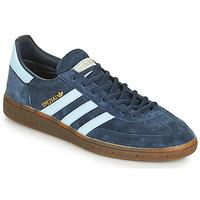 鞋子 球鞋基本款 Adidas Originals 阿迪达斯三叶草 HANDBALL SPEZIAL 蓝色 / 白色