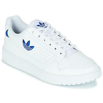 鞋子 球鞋基本款 Adidas Originals 阿迪达斯三叶草 NY 92 白色