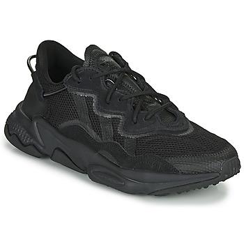 鞋子 球鞋基本款 Adidas Originals 阿迪达斯三叶草 OZWEEGO 黑色