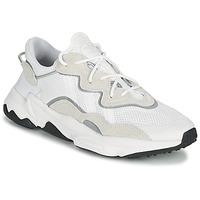 鞋子 球鞋基本款 Adidas Originals 阿迪达斯三叶草 OZWEEGO 白色 / 米色