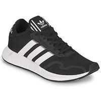 鞋子 球鞋基本款 Adidas Originals 阿迪达斯三叶草 SWIFT RUN X 黑色 / 白色