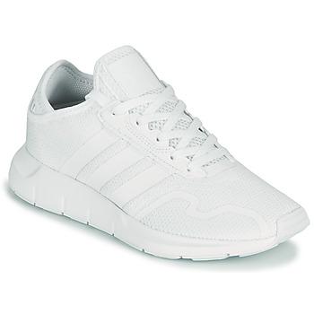 鞋子 儿童 球鞋基本款 Adidas Originals 阿迪达斯三叶草 SWIFT RUN X J 白色