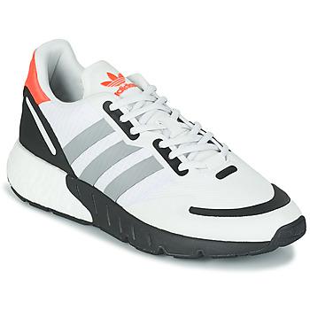 鞋子 球鞋基本款 Adidas Originals 阿迪达斯三叶草 ZX 1K BOOST 白色 / 灰色