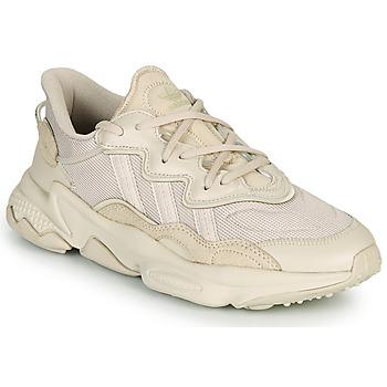 鞋子 球鞋基本款 Adidas Originals 阿迪达斯三叶草 OZWEEGO 米色