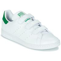 鞋子 球鞋基本款 Adidas Originals 阿迪达斯三叶草 STAN SMITH CF SUSTAINABLE 白色 / 绿色
