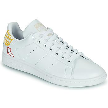 鞋子 女士 球鞋基本款 Adidas Originals 阿迪达斯三叶草 STAN SMITH W SUSTAINABLE 白色 / 多彩