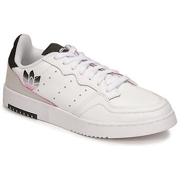 鞋子 女士 球鞋基本款 Adidas Originals 阿迪达斯三叶草 SUPERCOURT 白色
