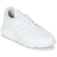 鞋子 球鞋基本款 Adidas Originals 阿迪达斯三叶草 ZX 1K BOOST 白色