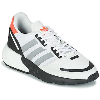 鞋子 儿童 球鞋基本款 Adidas Originals 阿迪达斯三叶草 ZX 1K BOOST J 白色 / 灰色