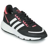 鞋子 女士 球鞋基本款 Adidas Originals 阿迪达斯三叶草 ZX 1K BOOST W 黑色 / 玫瑰色