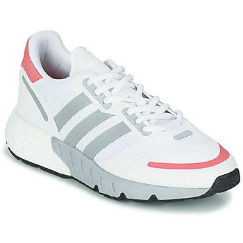 鞋子 女士 球鞋基本款 Adidas Originals 阿迪达斯三叶草 ZX 1K BOOST W 白色 / 玫瑰色