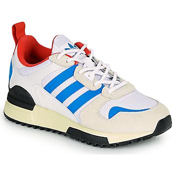 鞋子 儿童 球鞋基本款 Adidas Originals 阿迪达斯三叶草 ZX 700 HD J 米色 / 蓝色