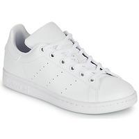 鞋子 儿童 球鞋基本款 Adidas Originals 阿迪达斯三叶草 STAN SMITH J SUSTAINABLE 白色